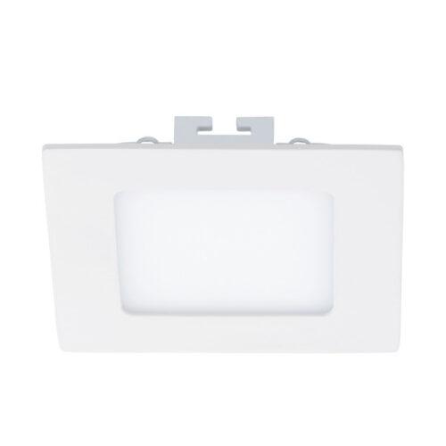 eglo 94053 | FUEVA 1 EMBUTIDO CUAD BLANCO LC 120X120 5,5W LED 600lm