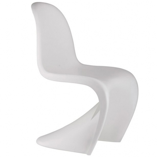 silla panton chair r plica blanca urban design. Black Bedroom Furniture Sets. Home Design Ideas